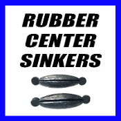 RUBBER CENTER SINKERS